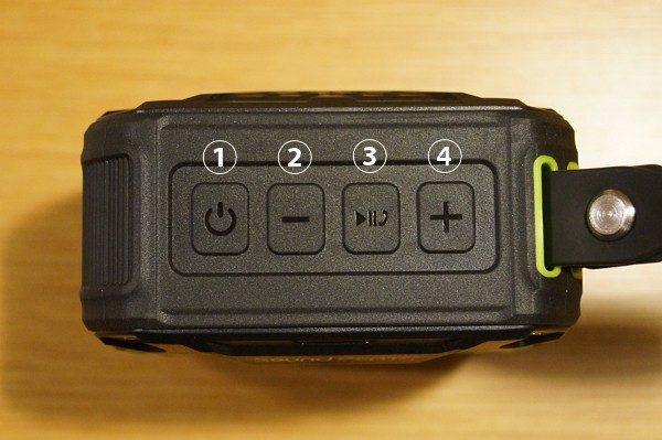 「SoundPEATS Bluetoothスピーカー P2」の使い方