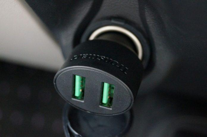 Tronsmart USBカーチャージャーレビュー