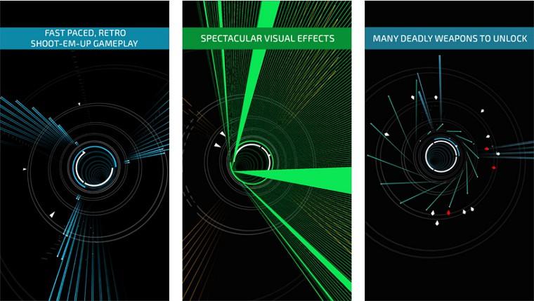 Appleが「今週のApp」としてシューティングゲーム「Super Arc Light」を無料配信中!