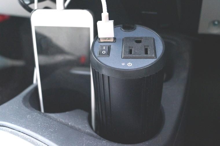 Aukey 150W カーインバーター/2.1A USB出力ポート PA-V11 レビュー