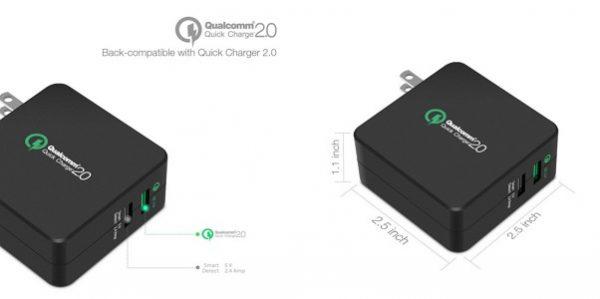 「LERVING 30W 2ポート USB超急速充電器」の特徴/仕様