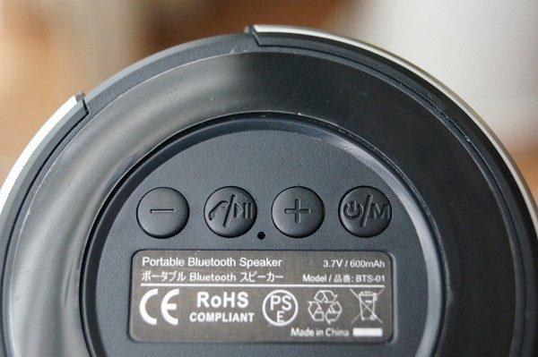 「LERVING Bluetoothスピーカー BTS-01」の使い方