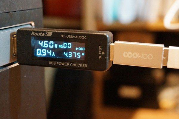 COOWOO 充電強化USBアダプター レビュー