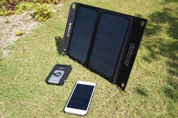 「dodocool 2ポート ソーラーチャージー&10000 mAhモバイルバッテリー」&「dodocool ソーラーチャージャー&4200mAhモバイルバッテリー&LEDライト」レビューまとめ!