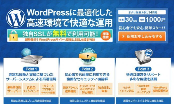 WordPress専用サーバー「wpX」がSSL機能を大幅強化!無料でSSLが利用可能な「Let's Encrypt」対応や常時SSL化を支援する「SSL化補助」機能を提供開始!さらに「Nginx」導入でより一層サイト表示が高速に!