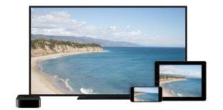 iPhoneの画面をApple TVにAirPlay ミラーリングで表示する方法