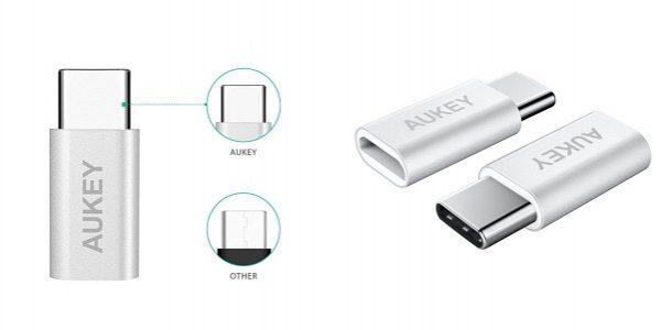 「Aukey USB C to Micro USBアダプタ 2点セット」の特徴/仕様