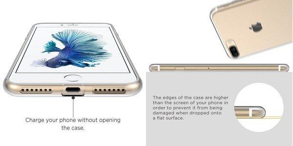 EasyAcc「iPhone 7/ 7 Plus用TPUケース」の特徴
