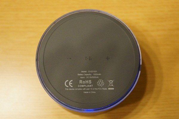 「EC Technology ミニBluetoothスピーカー」操作方法