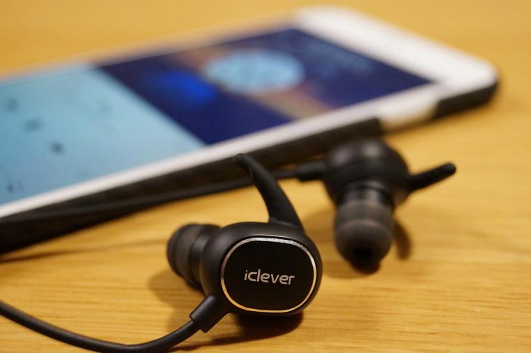 iClever Bluetooth スポーツイヤホン レビュー