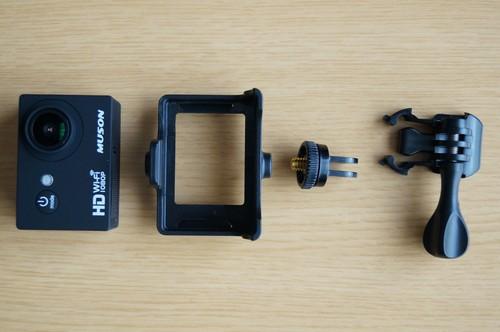 「MUSON C1 アクションカメラ」の使い方/Wi-Fi及び「Ez iCam」アプリ使用方法