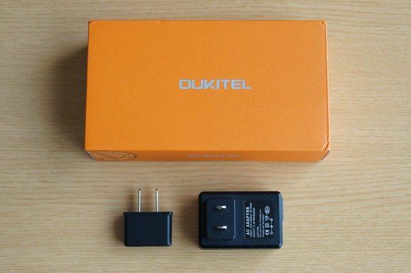 「OUKITEL U7 Plus」セット内容