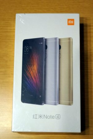 Xiaomi Redmi Note 4の外観