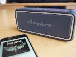 Anypro ポータブル Bluetoothスピーカー HFD-895 レビュー