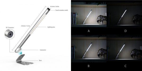 「dodocool LEDデスクライト」の特徴/仕様