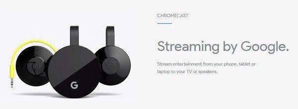 4KやHDRにも対応した新型「Chromecast Ultra」