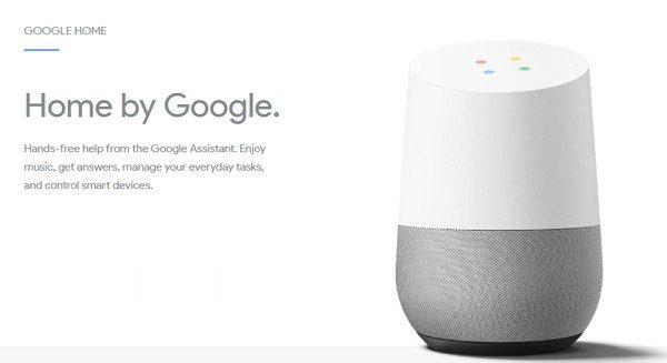 音声アシスタント搭載の「Google Home」