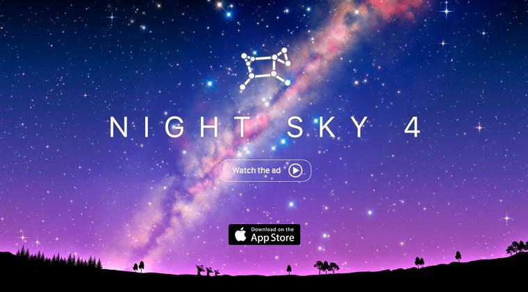 Appleが「今週のApp」として「Night Sky 4」を無料配信中!