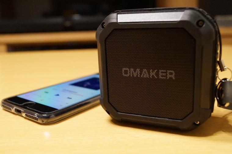 Omaker M4 防水Bluetoothスピーカー レビュー