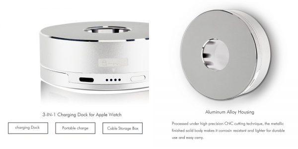 「Archeer Apple Watch スタンド/ポータブル充電器」の特徴/仕様