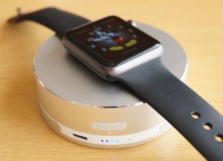 【レビュー】Apple Watchユーザーにおすすめ!「Archeer Apple Watch スタンド/ポータブル充電器」はバッテリー内蔵でどこでも充電可能!旅行のお供に最適!