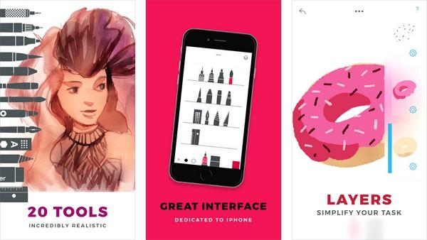 Appleが「今週のApp」として「Tayasui Sketches Pro」を無料配信中!