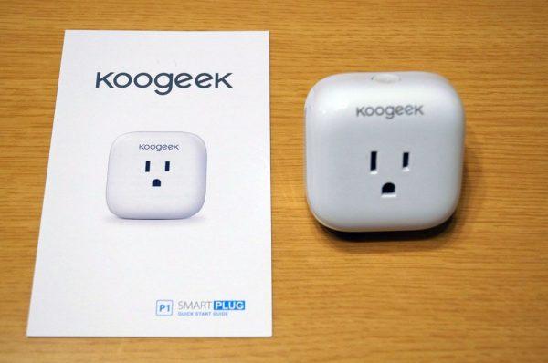 「Koogeek スマートコンセント」のセット内容