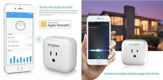 AppleのHomeKitに対応!「Koogeek スマートコンセント」はWi-Fi経由で電源のオンオフが可能な近未来コンセント!
