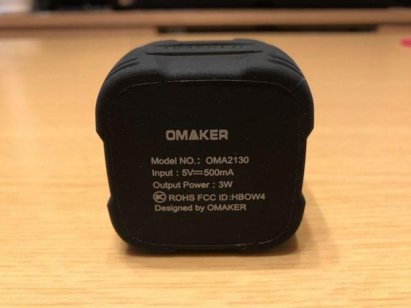 「Omaker Bluetoothスピーカー キューブタイプ W4N」レビューまとめ!