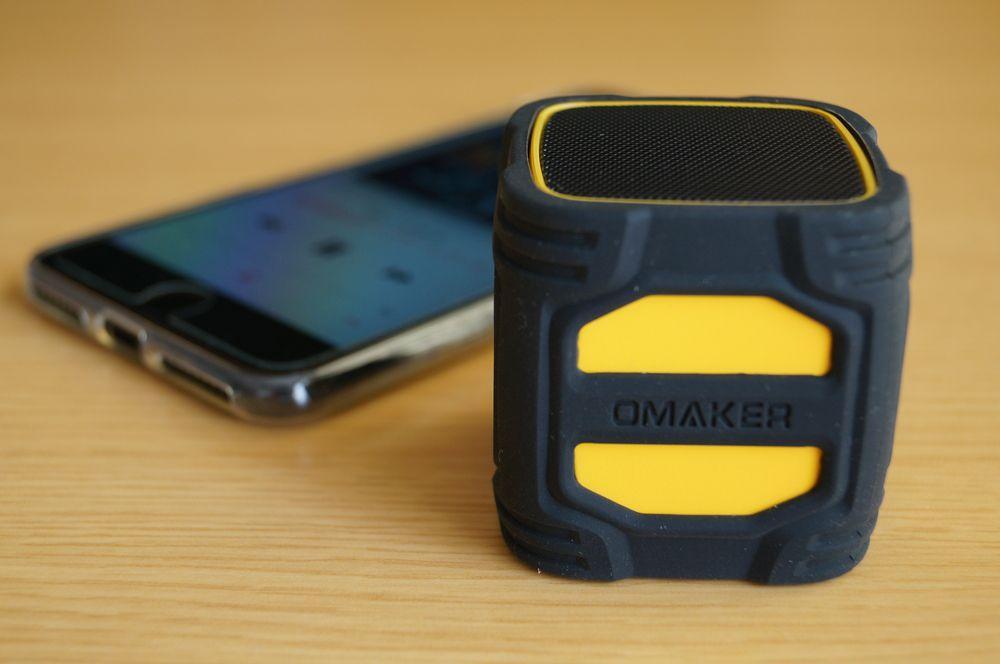 Omaker Bluetoothスピーカー キューブタイプ W4N レビュー