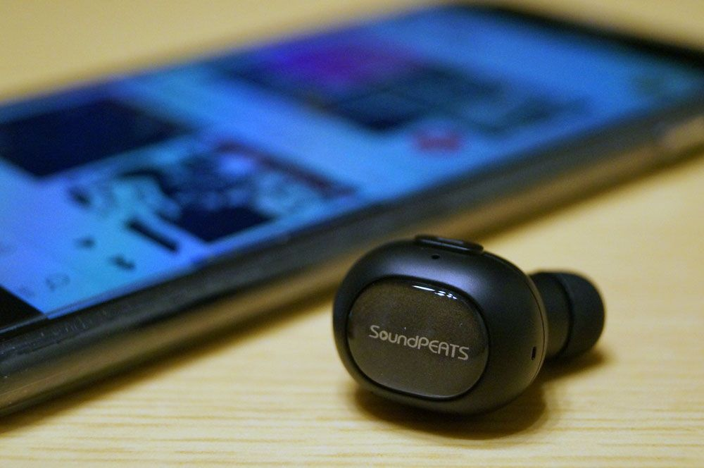 SoundPEATS Bluetooth 片耳イヤホン/ヘッドセット D3 レビュー