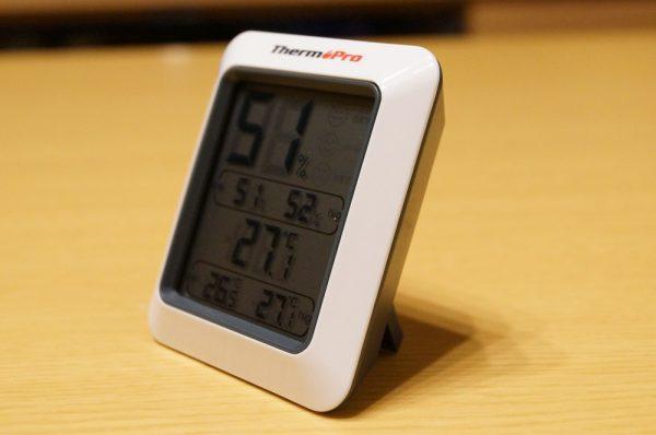 「ThermoPro デジタル温湿度計 TP50」レビューまとめ!