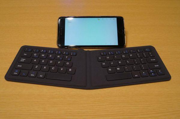 「iClever Bluetoothキーボード 折りたたみ式」レビューまとめ!