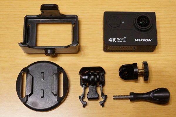 「MUSON MC2 4K アクションカメラ」の使い方/Wi-Fi及び「Ez iCam」アプリ使用方法