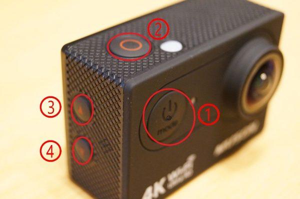「MUSON MC2 4K アクションカメラ」