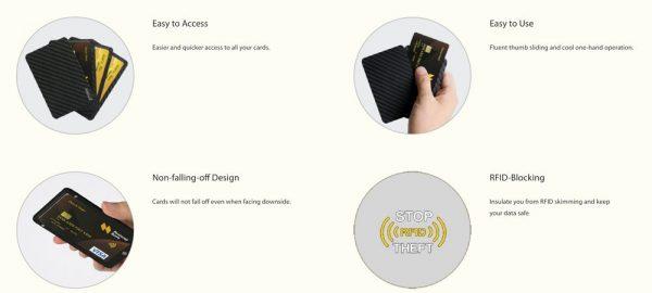 「PITAKA アラミド製カードケース」の特徴/仕様
