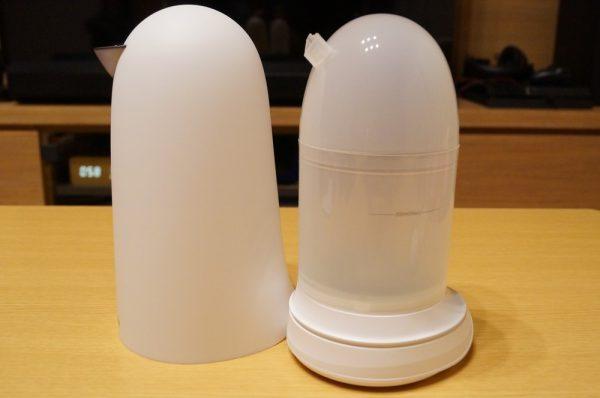 「Sparoma アロマディフューザー/超音波式加湿器」の使い方について