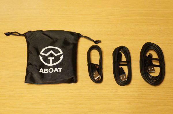 「ABOAT USB Type-Cケーブル USB-A to USB-C 3本セット」のセット内容