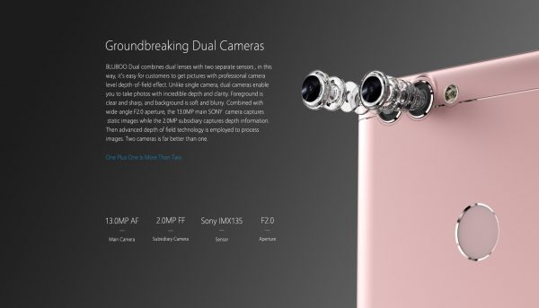 「BLUBOO Dual」のカメラ性能検証