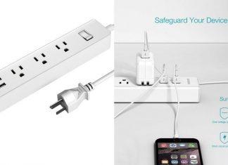 【レビュー】USBケーブルを直挿し充電可能!「dodocool 電源タップ ACコンセント + USB充電ポート付き」は寝室や仕事場で重宝するマルチな電源タップ!