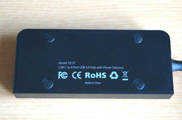 「dodocool USB-Cハブ to 4×USB3.0ポート」レビュー!