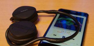 【レビュー】超コンパクトな密閉式ヘッドホン!「AUKEY bluetoothヘッドホン EP-B26」はソフトな装着感とコンパクトさでいい感じ!音質も良い!