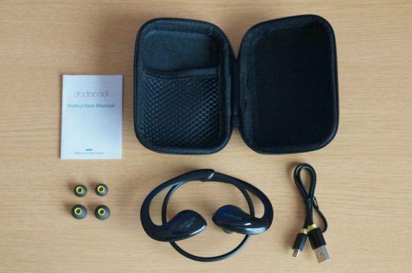「dodocool Bluetooth イヤホン DA104」のセット内容