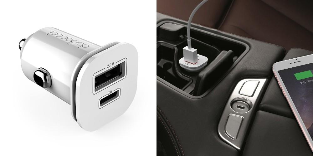 【レビュー】超コンパクト&USB-Cに対応!「dodocool 車載充電器/カーチャージャー USB-A/C DA111」は幅広いガジェットに対応した便利なカーチャージャー!