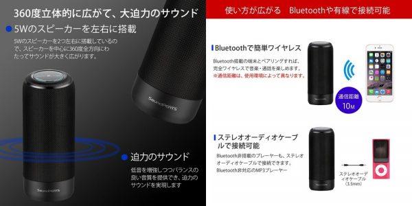 「SoundPEATS Bluetooth スピーカー P4」の特徴/仕様