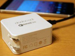 【レビュー】対応機器ならかなりの急速充電が可能!「dodocool 2ポート USB急速充電器 USB-C & QC 3.0対応 折りたたみ式プラグ搭載」は便利な高性能充電器!