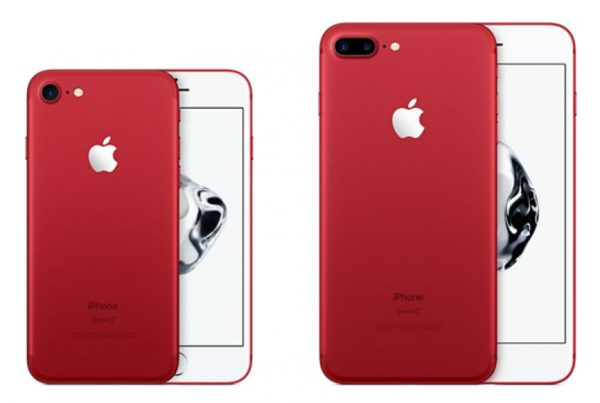 AppleがiPhone8 / iPhone 8 Plusに「Product(RED)」モデルを追加か。