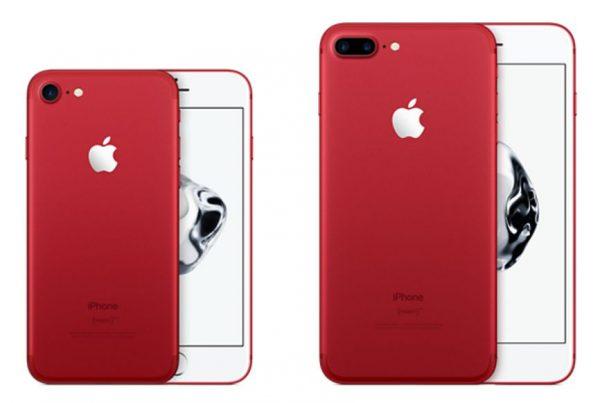 「iPhone 7 RED」モデルが正式発表!発売日は3月25日から!