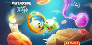 Appleが「今週のApp」として、人気のアクションパズルゲーム「Cut the Rope: Magic」を無料配信中!