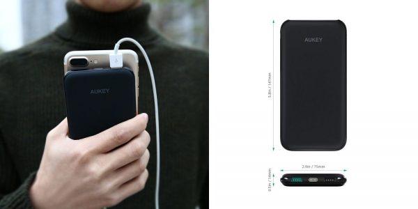 「AUKEY モバイルバッテリー 10000mAh 2USBポート PB-N51」の特徴/仕様